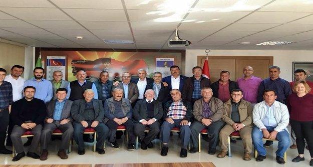 Kaş Ziraat Odası Delege Seçimleri yapıldı