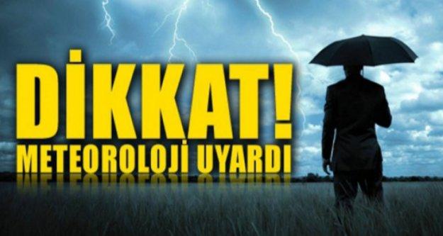 Meteoroloji'den Antalya ve Alanya için 2 uyarı