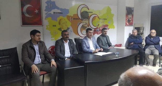 MHP Başkanı Türkdoğan mahalle teşkilatıyla buluştu
