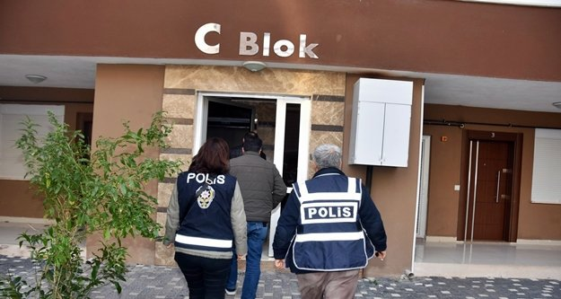 Polisten günübirlik evlere şok baskın:1 kişi tutuklandı