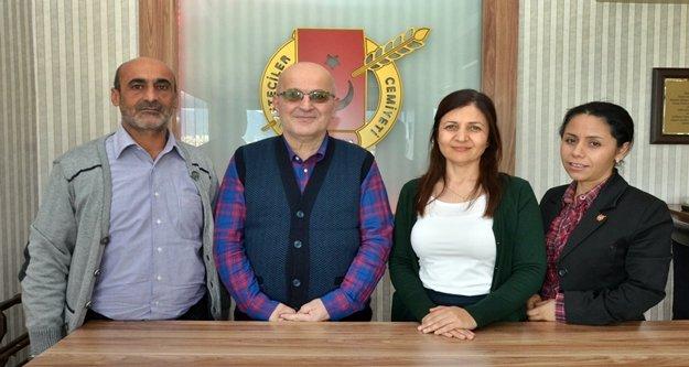Rize Gazeteciler Cemiyeti'nden AGC'ye ziyaret