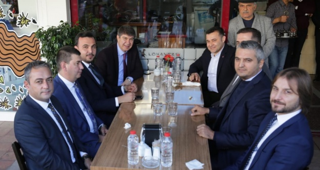Türel, Yücel, Toklu ve Türkdoğan'dan ittifak yemeği