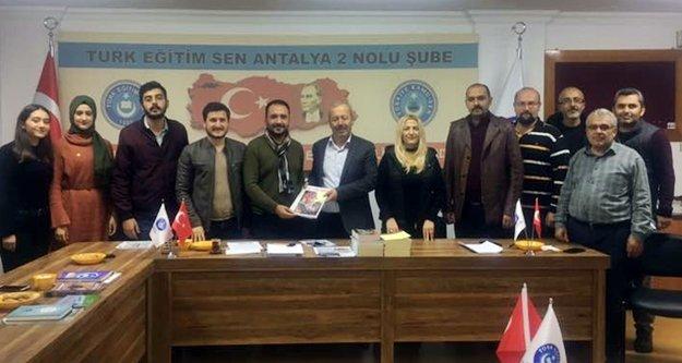 Türk Ocakları'ndan Tes'e ziyaret
