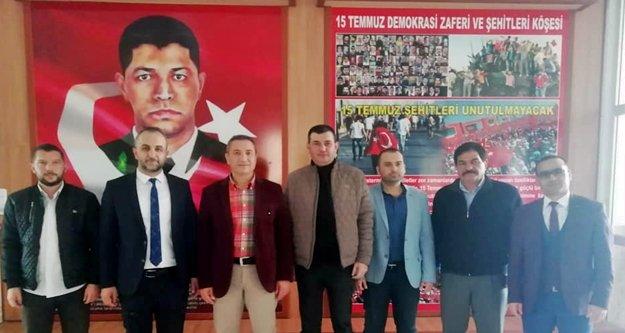 Türkdoğan ve ekibi...