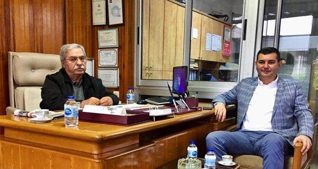 Türkdoğan'dan MHP'li Şahin'e ziyaret