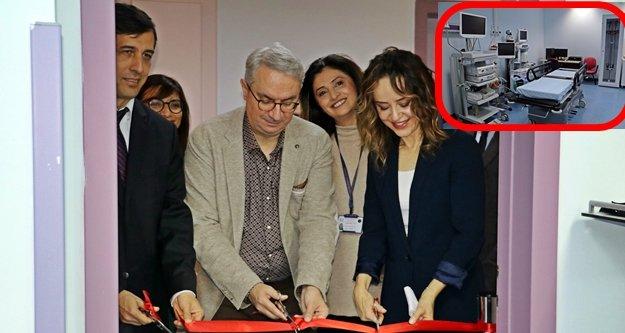 Türkiye'de bir ilk: AÜ'de Bronkoskopi bölümü açıldı