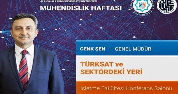 TÜRKSAT Genel Müdürü ALKÜ'ye geliyor
