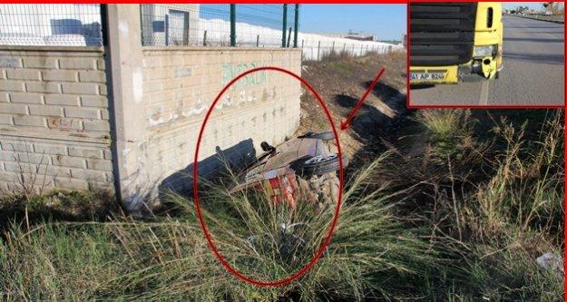 Yürekleri ağza getiren kaza: 4 kişi yaralandı!