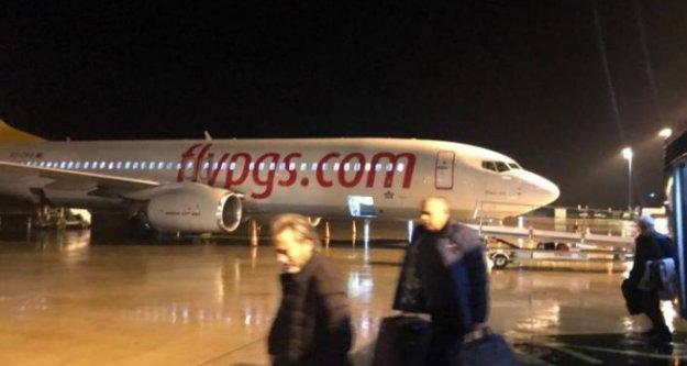 Alanya GZP'de uçağı su bastı!