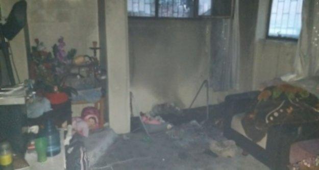 Alanyada yangın paniği: 2 kadın dumandan etkilendi