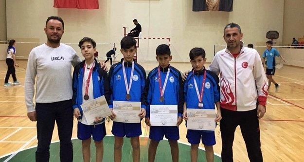 Alanyaspor Badminton'da 2'nci oldu
