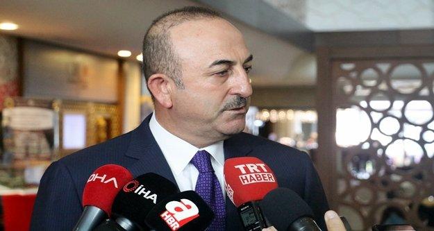 """Bakan Çavuşoğlu: 'Bunun arkasında PKK olduğunu biliyoruz"""""""