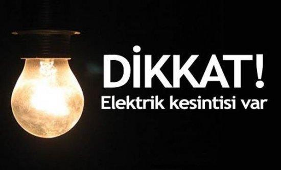 Dikkat! Alanya'da elektrik kesintisi var!