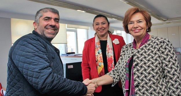 AK Parti'nin kadın adayı çalışmalara başladı
