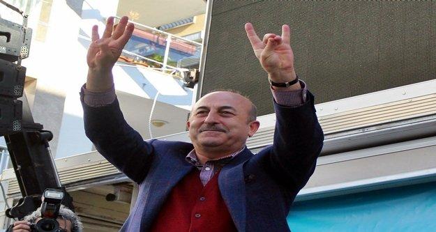 Alanyalı Bakan Çavuşoğlu'ndan Atatürk açıklaması