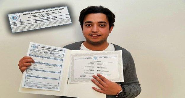 ALKÜ diploması artık uluslararası alanda geçerli
