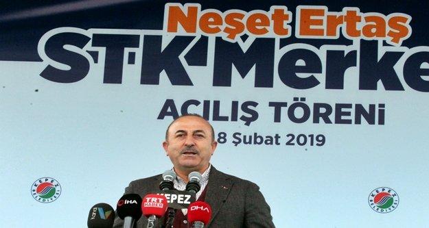 Bakan Çavuşoğlu Antalya'da gündemi değerlendirdi