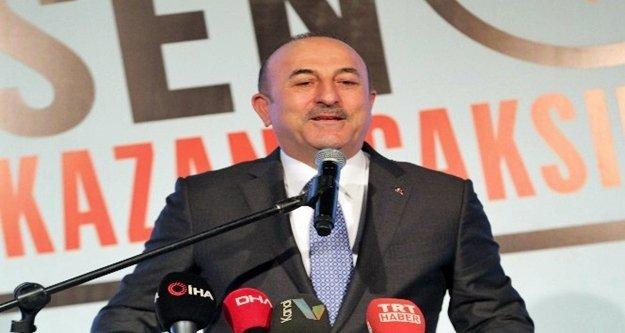 Bakan Çavuşoğlu'ndan ittifak açıklaması
