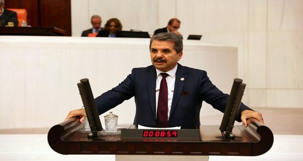 İYİ Partili Bahşi o konuyu meclise taşıdı