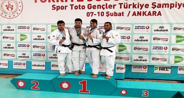 Judo'da Alanya'nın gururu oldu
