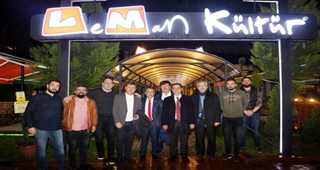 Millet İttifakı'nın Gazipaşa ekibi Leman'da gündemi değerledindirdi