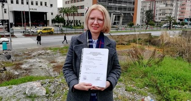Rus gelin Anastasia Çetinkaya resmen aday