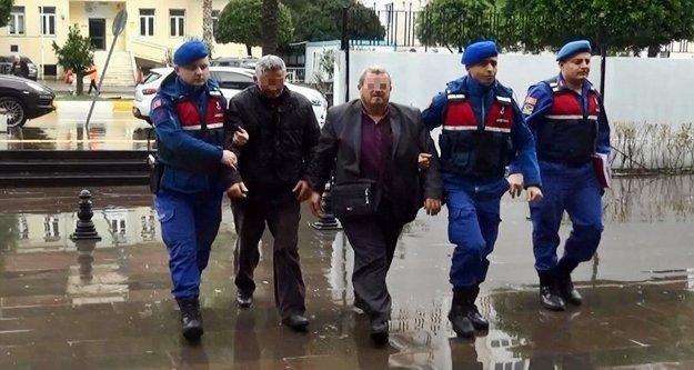 Tarihi eser kaçakçıları jandarmadan kaçamadı: 1 kişi tutuklandı