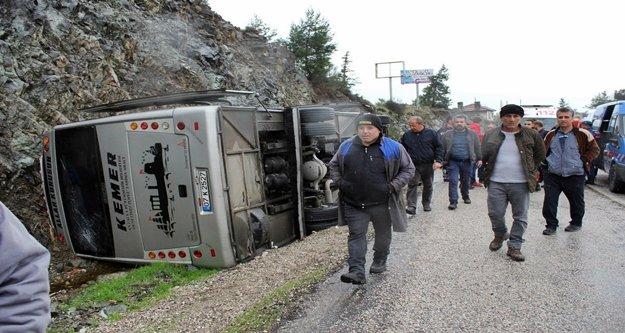 Yürekleri ağza getiren kazada 7 kişi yaralandı!