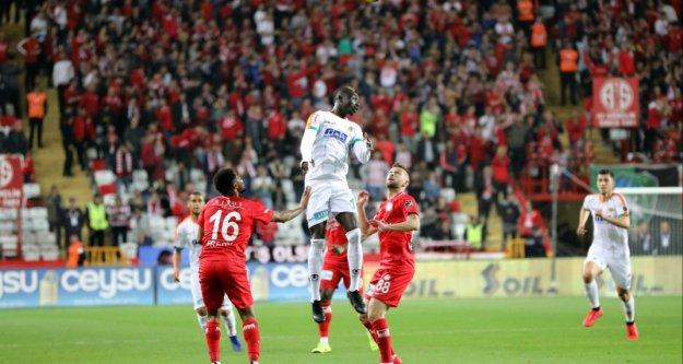 Akdeniz derbisi Antalyaspor'un