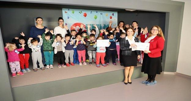 Alanya Belediyesi miniklere hijyeni eğlenerek öğretiyor