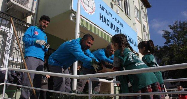 Alanya Belediyesi'nden Eko Okullara tam destek