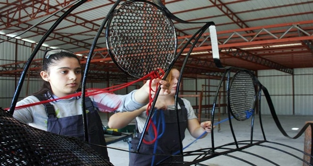 Alanya Belediyesi'nden öğrencilere sanat desteği