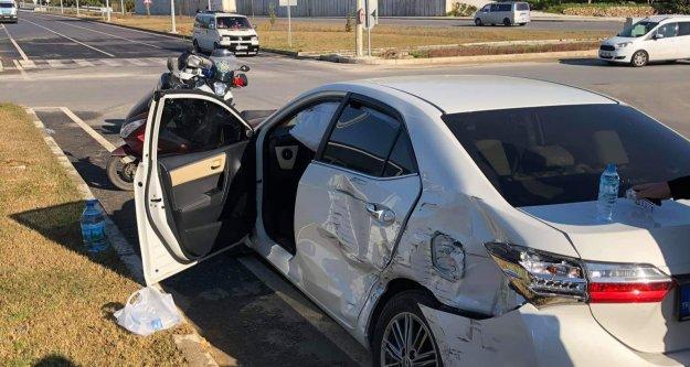 Alanya Çevreyolunda kaza: 3 yaralı var