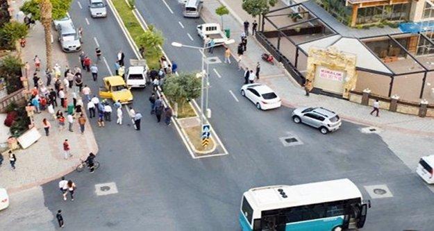 Alanya'da korkutan kaza: 2 kişi yaralandı!