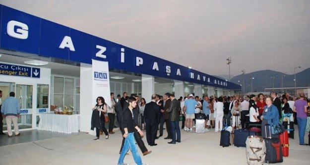 Alanya GZP'ye gelen turist sayısı umutlandırdı