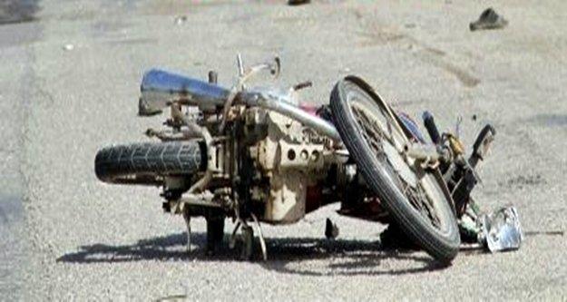 Alanya'da ehliyetsiz motosiklet sürücüsü yürekleri ağza getirdi!