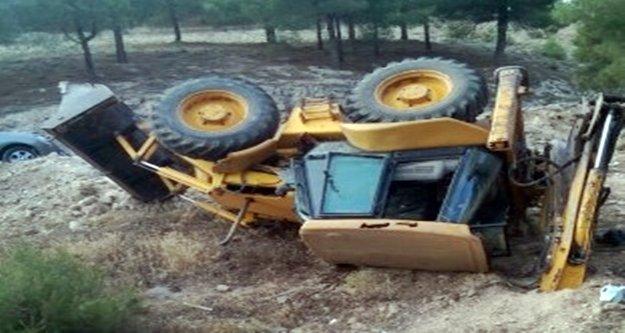 Alanya'da korkunç kaza! 1 kişi ağır yaralandı