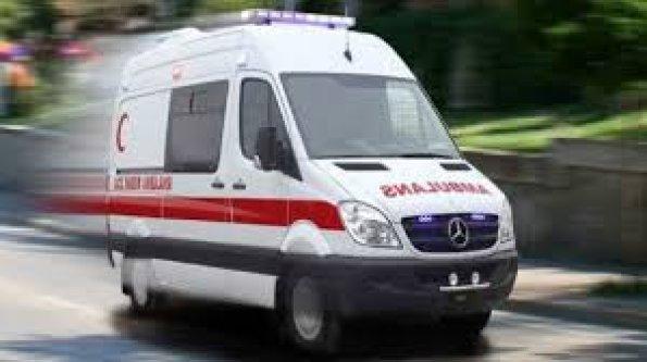 Alanya'da rögara düşen işçi yaralandı
