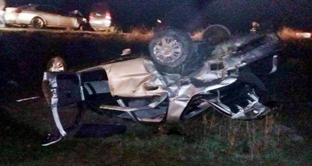 Alanya'daki feci kazada 2'si ağır 3 yaralı