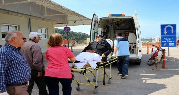 Ambulansla oy kullanmaya geldiler