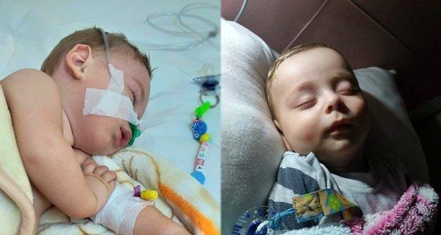 Anne ve babası cezaevinde olan 'SMA TİP1' hastası minik Yağız'ın acı savaşı!
