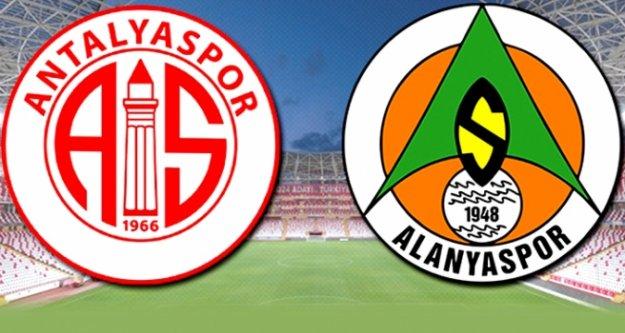 Antalyaspor- Alanyaspor'un 6. derbisi yarın!