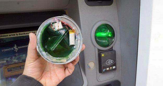 ATM dolandırıcıları polisten kaçamadı!
