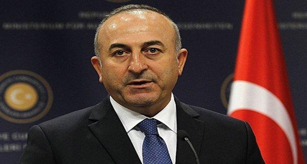 """Bakan Çavuşoğlu 'Müslümanları korumalıyız"""""""