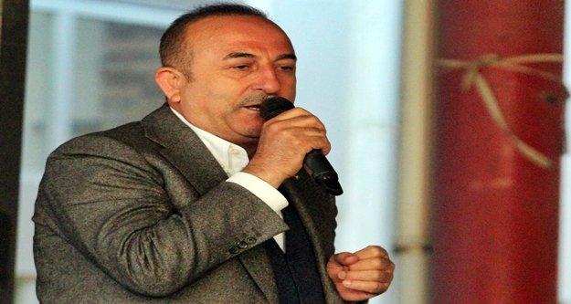 """Bakan Çavuşoğlu: 'Ümmetin umudu Türkiye"""""""