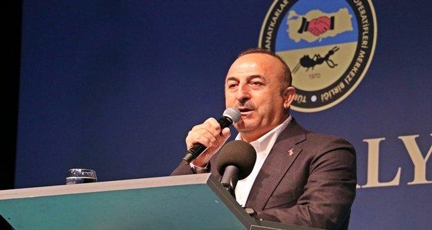 Bakan Çavuşoğlu'ndan esnafa çağrı