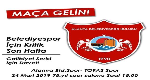 Belediyespor'un kader maçına saatler kaldı!