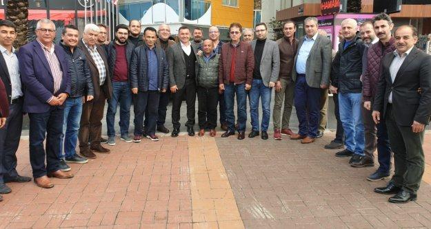 Berberoğlu ve ekibinden Yücel'e tam destek