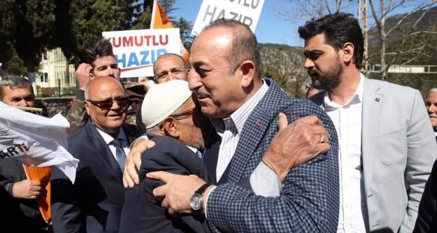 Çavuşoğlu'ndan Gündoğmuş'ta CHP'ye çok sert HDP tepkisi