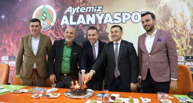 Cumhur İttifakı'ndan Alanyaspor ziyareti